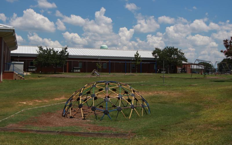 The Georgia Department of Public Health (DPH) recently released the results of a 'health consultation' at Elbert County Primary School, which is right across the road from Martin Fireproofing Georgia Inc. (Photo by Scoggins)