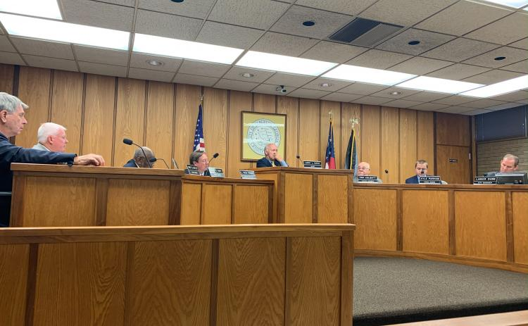 The Elberton City Council met Oct. 7 for their monthly meeting.
