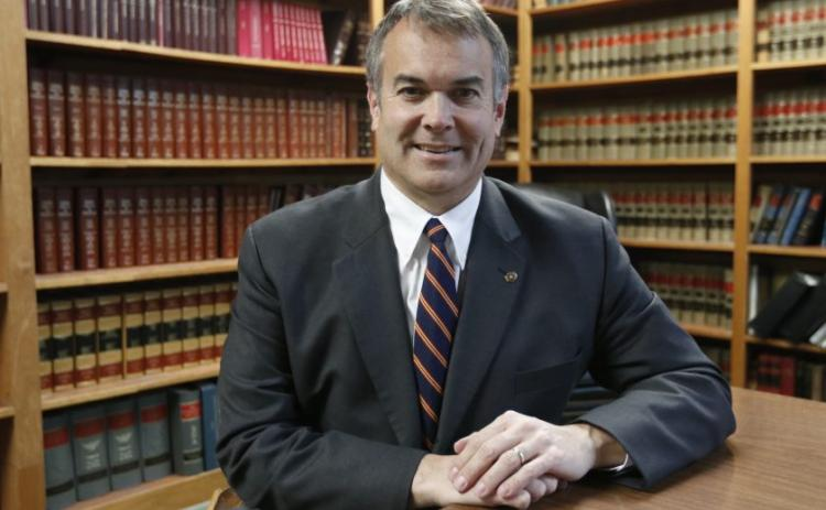 Elbert County attorney Rob Leverett